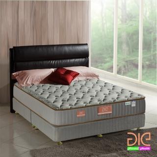 【aie享愛名床】天絲+乳膠+記憶膠二線蜂巢獨立筒麵包床-雙人加大6尺(奢華型)