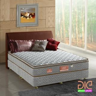 【aie享愛名床】竹碳+3M防潑水真三線彈簧床墊-雙人5尺(經濟型)