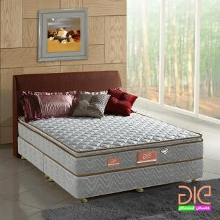 【aie享愛名床】竹碳+3M防潑水真三線彈簧床墊-雙人加大6尺(經濟型)