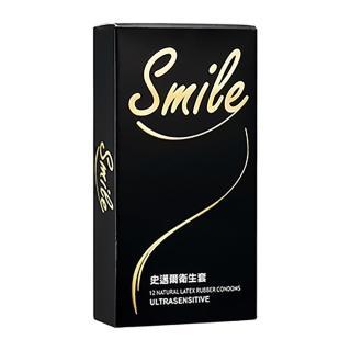 【SMILE史邁爾】衛生套保險套(超薄12入)