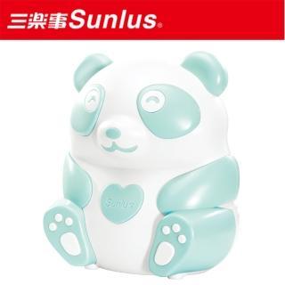 【Sunlus三樂事】熊貝比電動吸鼻器(藍)