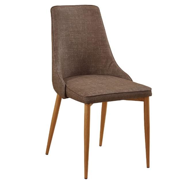 【AT HOME】薇奇皮質餐椅(兩色可選)