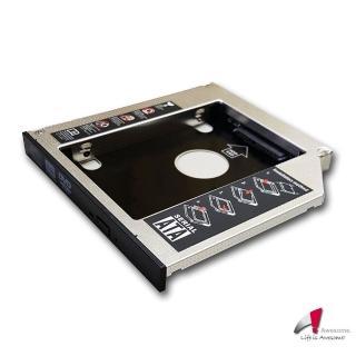 【Awesome】筆電升級專家 筆電光碟轉9.5mm SATA硬碟托盤模組(AWD-1S)