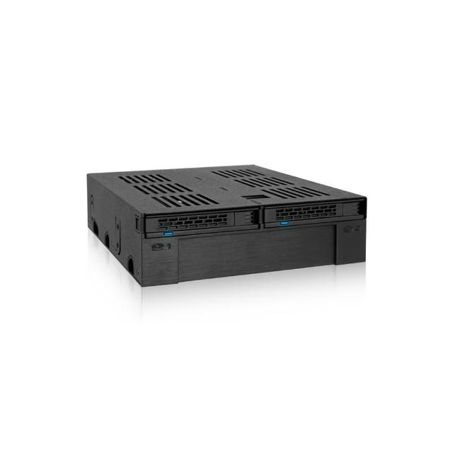 ICY DOCK 2.5/3.5轉5.25吋硬碟內接模組-MB322SP-B