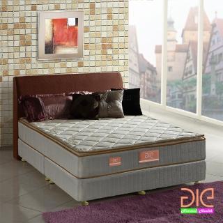~aie享愛名床~竹碳 羊毛 記憶膠真三線彈簧床墊~雙人5尺 實惠型