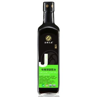 【喜樂之泉】有機薄鹽醬油(500ml)