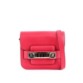 【PS PROENZA SCHOULER】TINY 款 超mini 小牛皮 PS11(洋紅色)