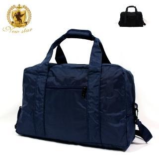 【NEW STAR】日系極簡超大容量口袋肩背包旅行袋 BB35(購物袋)