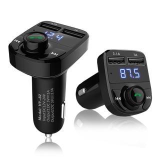 【長江】第五代雙USB車用免持藍牙MP3播放器(公司貨)
