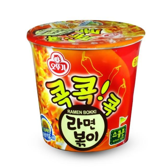 【韓國不倒翁OTTOGI】辣炒年糕風味乾拌杯麵(65g)