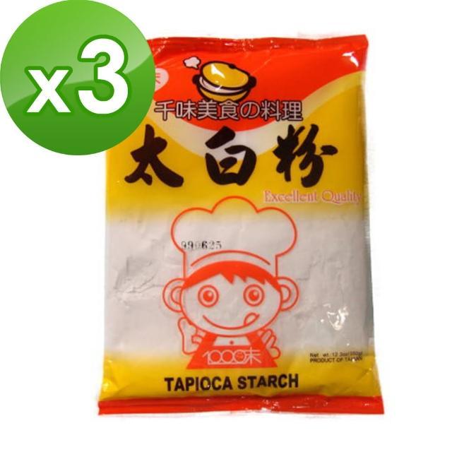 【千味】太白粉(350g)X3入