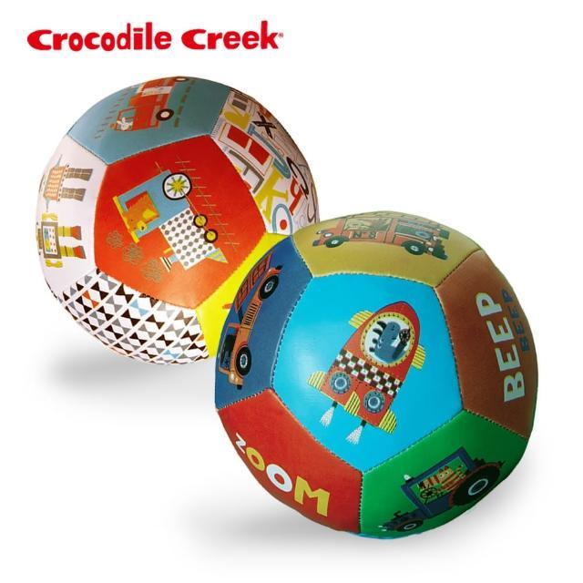 【美國Crocodile Creek】寶寶感統遊戲皮球2入組(玩樂交通世界)