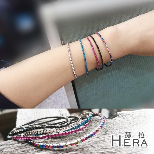 【Hera】宮廷風復古微彈力水鑽手鍊(5款)