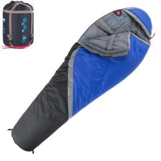 【PUSH! 登山戶外用品】300克防風防潑水四季空調被可拼接木乃伊睡袋(P76)