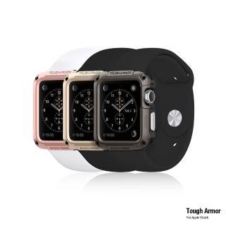 【Spigen】Apple Watch 1/2 Tough Armor-美國軍規認證防震保護殼