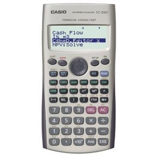 【CASIO】財務型計算機(FC-100V)