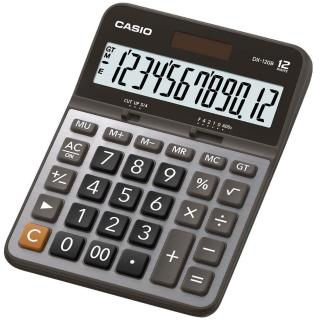 【CASIO】12位元商用計算機(DX-120B)