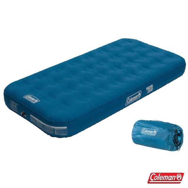 【美國 Coleman】DURAREST 輕量耐用氣墊床-TWIN.充氣床.充氣睡墊.露營睡墊.床墊/雙段空氣閥(CM-31958)