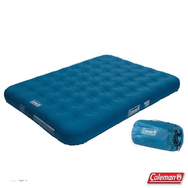 【美國 Coleman】DURAREST輕量耐用氣墊床QUEEN.充氣床.充氣睡墊.露營睡墊.床墊/雙段空氣閥(CM-31957)
