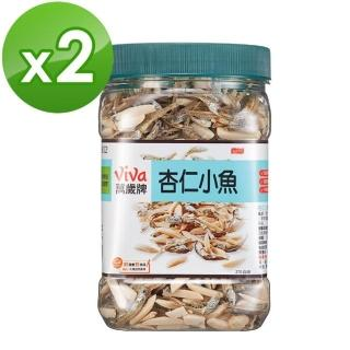 【萬歲牌】杏仁小魚(270公克-方型罐)*2入