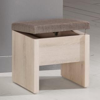 【Bernice】艾奇收納化妝椅/單椅
