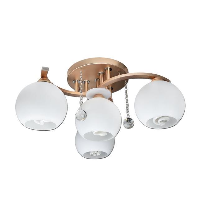 【華燈市】特莉斯3+1燈半吸頂燈(臥室/客廳)