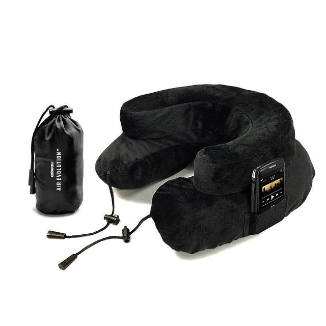 【Cabeau】專利進化護頸充氣枕 黑色
