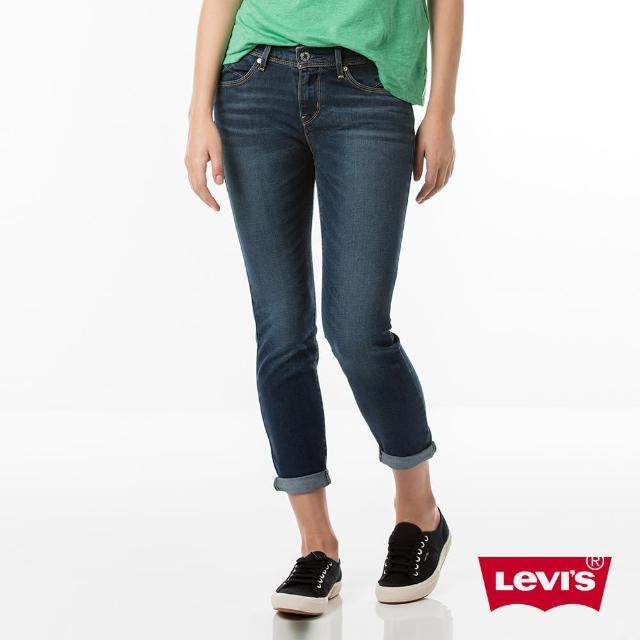 【Levis】REVEL 中腰緊身牛仔褲 / 高彈力塑型布料 / 七分褲