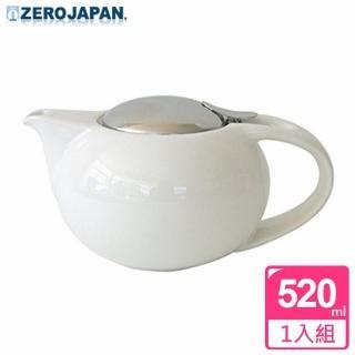 【ZERO JAPAN】嘟嘟陶瓷壺520cc(白色)