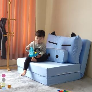 【BNS家居生活館】CUTE PIG 可愛豬童趣沙發床(沙發床/雙人沙發/折疊椅)