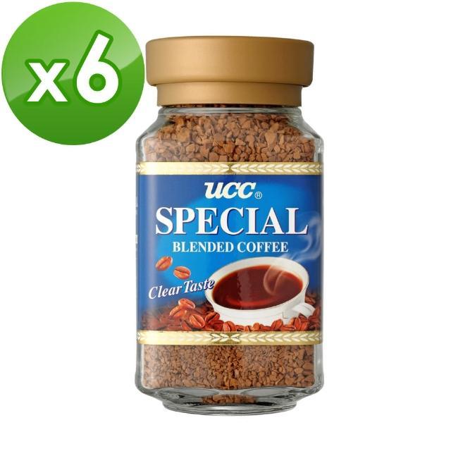 【UCC】第三代即溶咖啡-666即溶咖啡6罐組 100g(100g/罐)