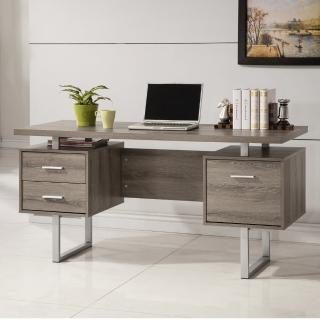 【康迪仕】五尺電腦書桌-深木色(工作桌/書桌/辦公桌)