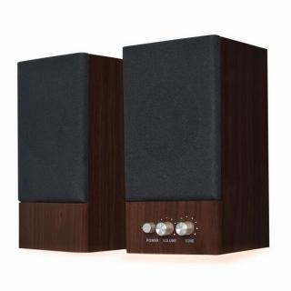 【JS】木匠之音2.0聲道全木質多媒體喇叭(JY2039)