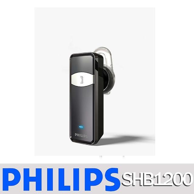 【PHILIPS 飛利浦】SHB1200/97 黑 耳塞式藍芽耳機