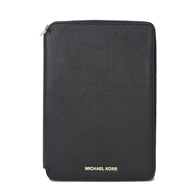 【MICHAEL KORS】Electronics IPad Mini保護套(黑/8卡)