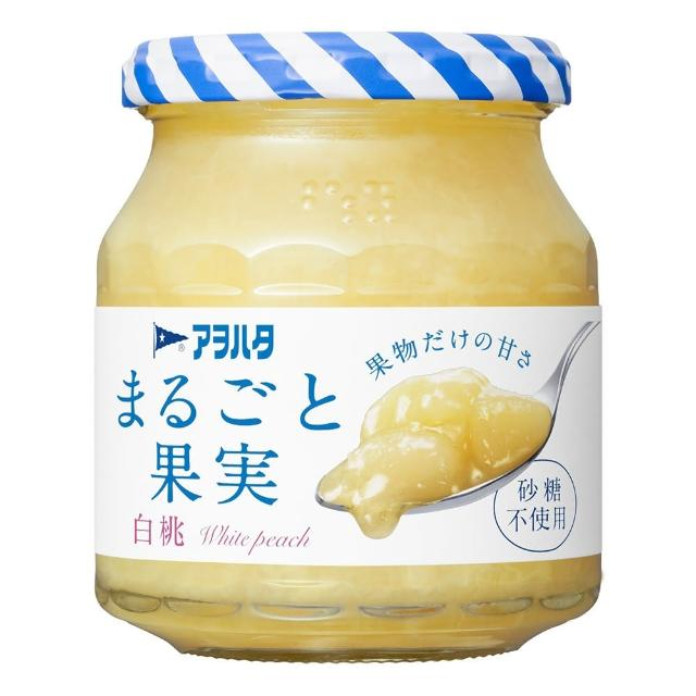 【Aohata】白桃果醬 無蔗糖(日本人氣第一)