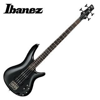 【IBANEZ】SR300E IPT 黑色四弦電貝斯(原廠公司貨 附贈琴袋以及背帶)