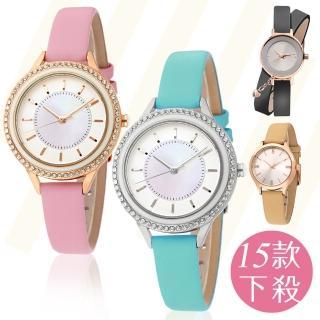 【MANGO】春妝慶典晶鑽時尚腕錶(15款)