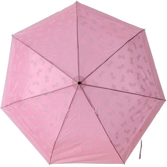 【Lady c.c.】夢幻公主蝴蝶結輕便鉛筆傘(粉)