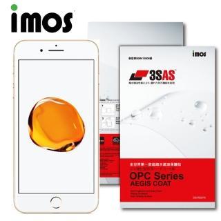 【iMOS 3SAS】Apple iPhone 7  疏油疏水 螢幕正面+背面超值組合貼