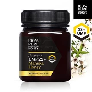 【紐西蘭恩賜】麥蘆卡蜂蜜Manuka UMF22+ 1瓶(250公克)