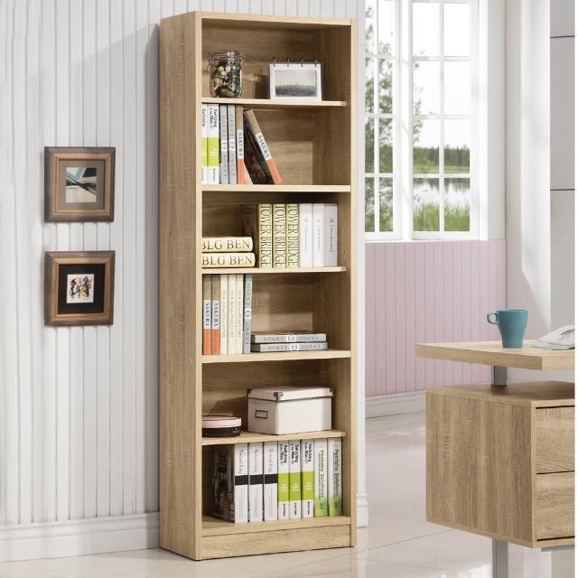 【COMDESK】六格高櫃-3D木紋-淺木色(書櫃/收納櫃)