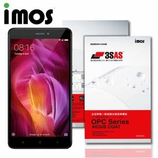 【iMOS 3SAS】小米 紅米 Note 4X(疏油疏水 螢幕保護貼)