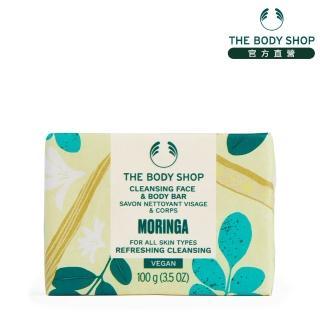 【The Body Shop】辣木籽更新潔膚皂(100G)