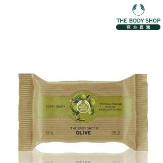 【The Body Shop】橄欖活化潔膚皂(100G)