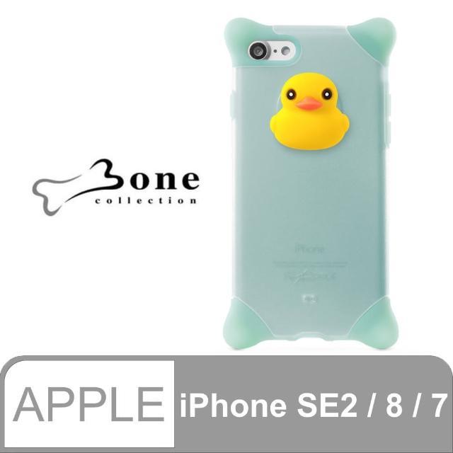 【Bone】iPhone 8 / 7 泡泡保護套 - 鴨子(四角防撞 無毒環保矽膠)