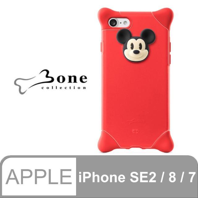 【Bone】iPhone 8 / 7 泡泡保護套 - 米奇(四角防撞 無毒環保矽膠)