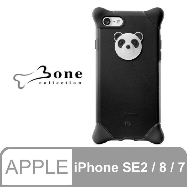 【Bone】iPhone 8 / 7 泡泡保護套 - 貓熊(四角防撞 無毒環保矽膠)