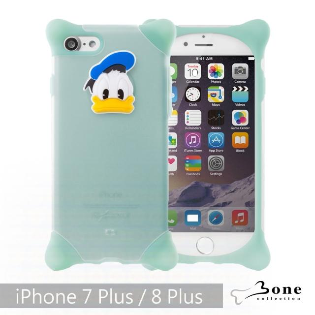 【Bone】iPhone 8 Plus / 7 Plus 泡泡保護套 - 唐老鴨(四角防撞 無毒環保矽膠)