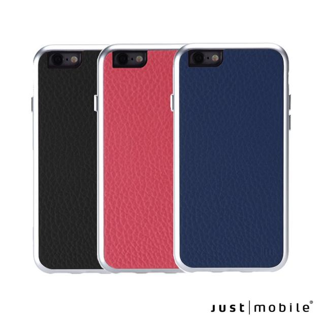 【Just Mobile】Leather iPhone6/6s 4.7吋 精緻鋁框真皮手機殼